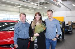 Sigurey sigurvegari í Opel Corsa - leiknum