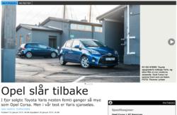 Opel Corsa slær í gegn