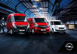 Opel atvinnubílasýning