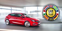 Opel Astra bíll ársins 2016