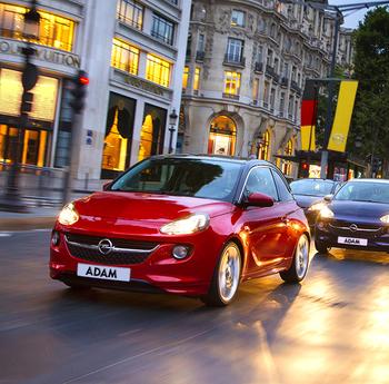 Opel reynsluakstur til Þýskalands