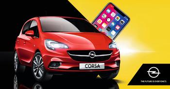 Reysluakstursleikur Corsa,  iPhone X í vinning.